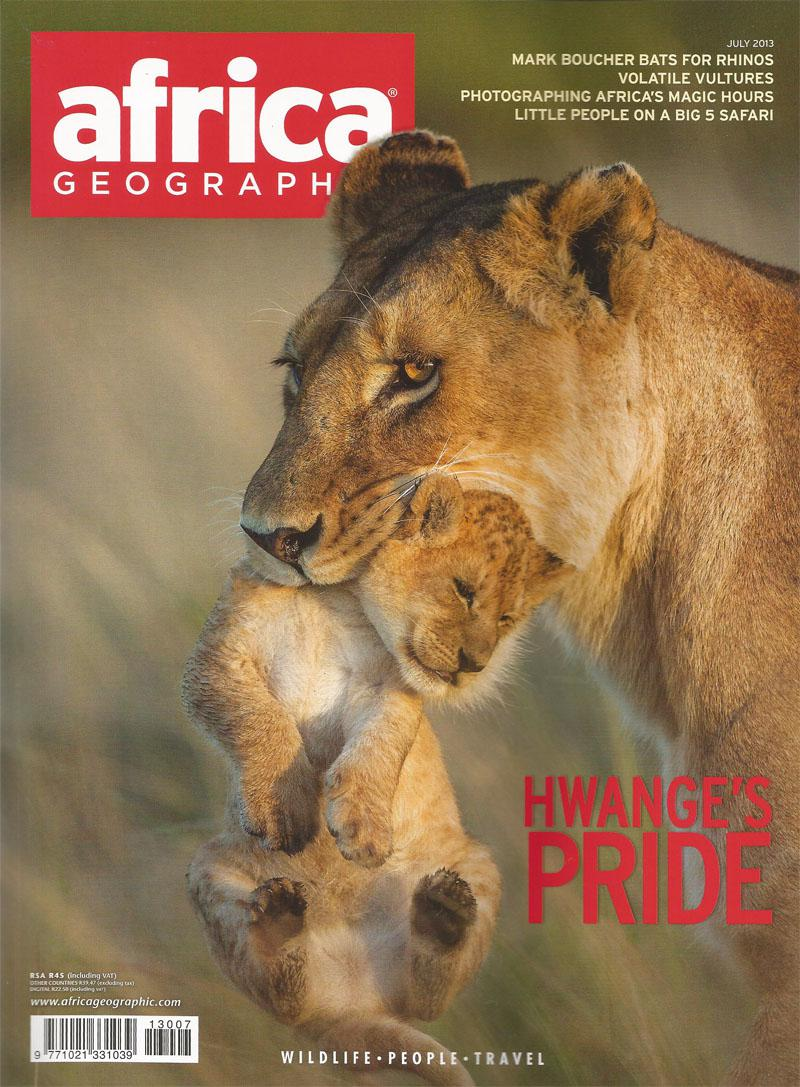 July 2013 Africa Geographic