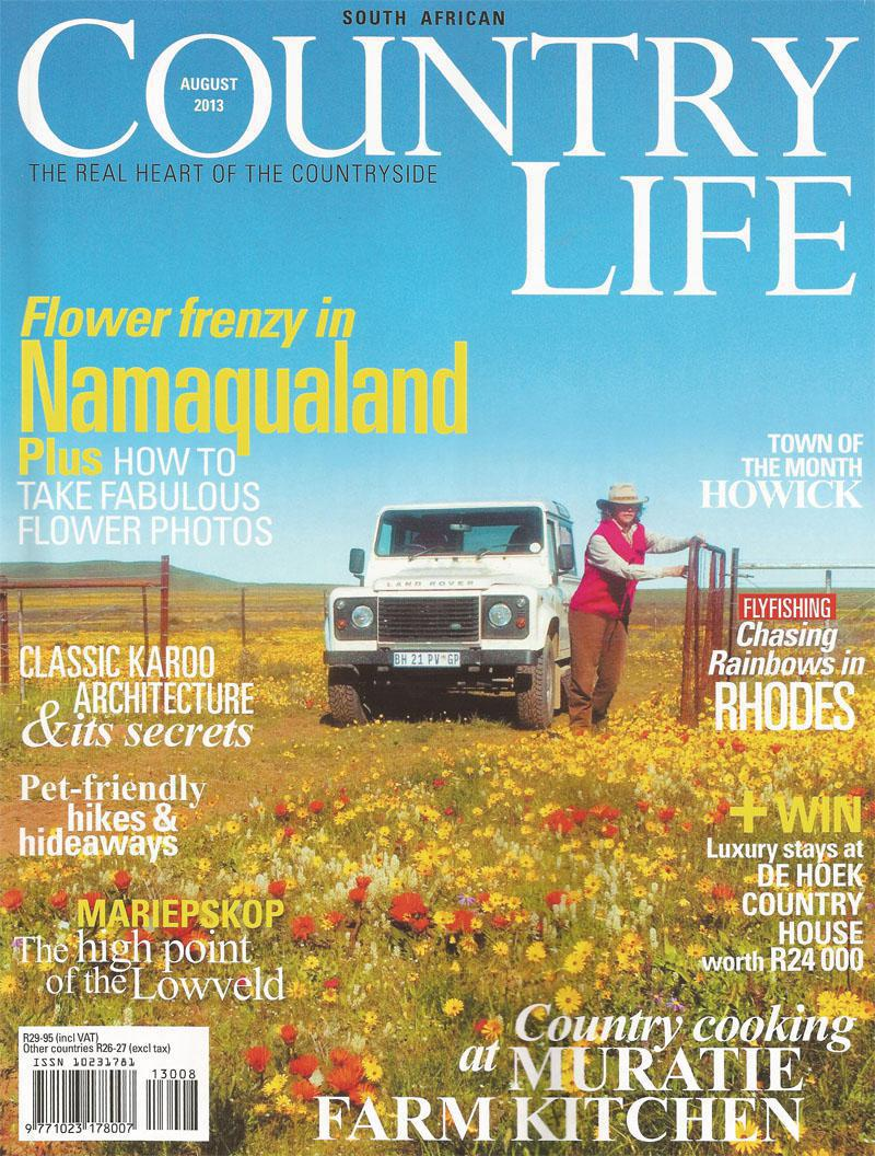Country life August 2013