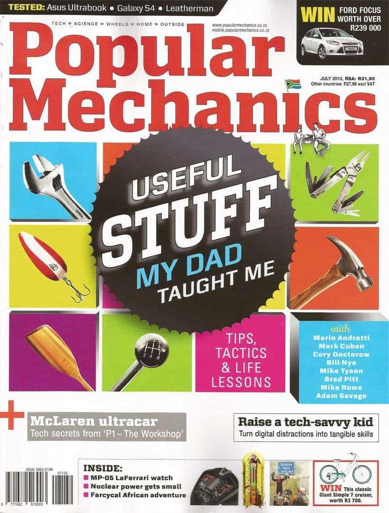Popular Mechanics July 2013