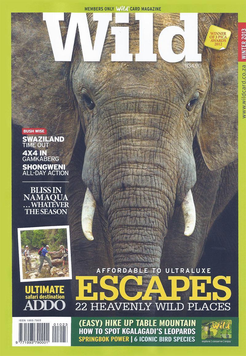 Wild Magazine Winter 2013