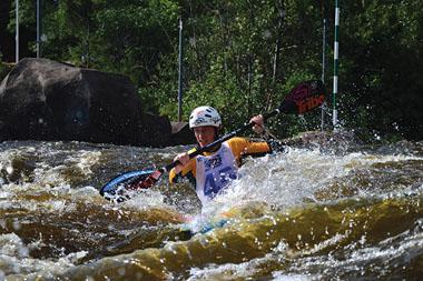 Our biggest medal hope rests in Don Wewege, the current and three-time South African National Canoe Slalom Champion.