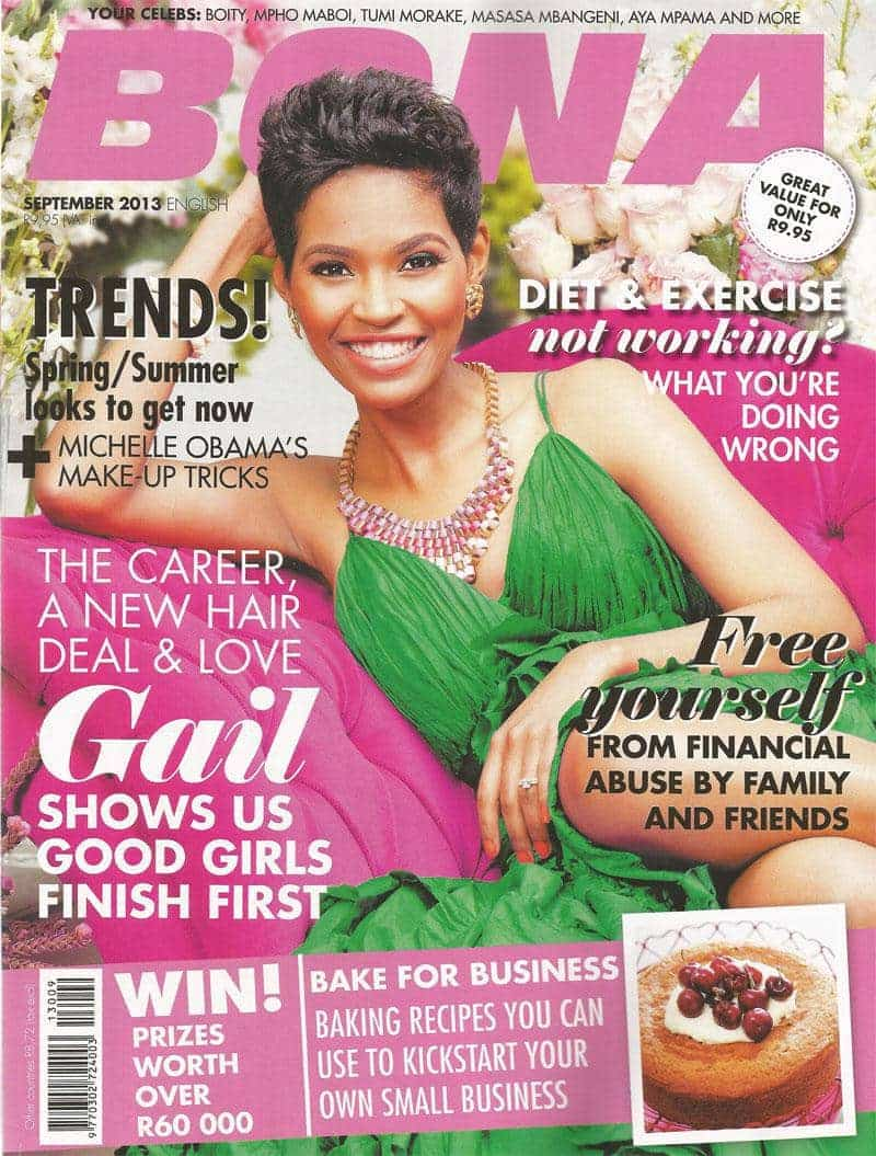September 2013 Bona Magazine