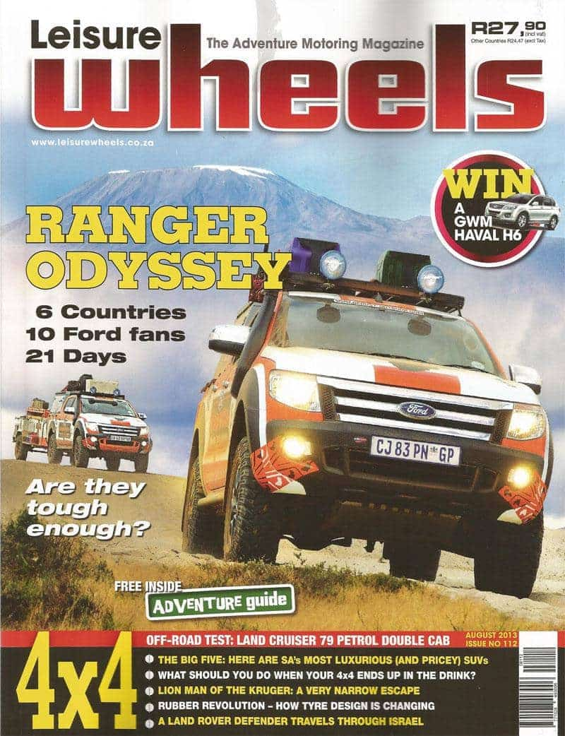Leisure Wheels Tmb August 2013