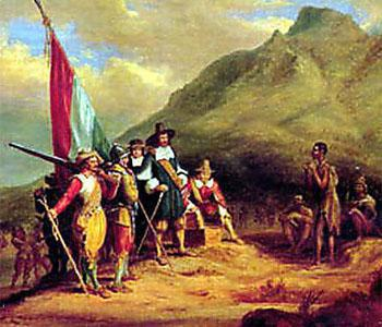Early Dutch settlers in the Cape