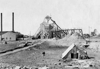 Early Gold Mine In South Africa