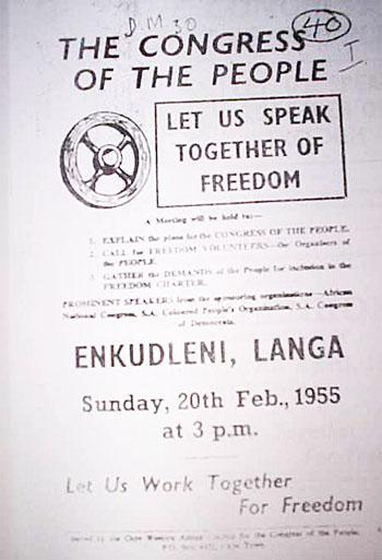 Freedom Charter of 1955