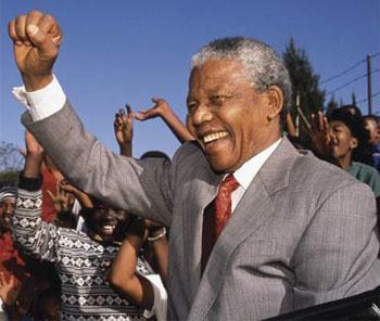 Nelson Mandela is FREE