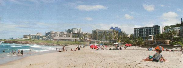 Plant your toes in the warm Margate sand and, when it gets hot, dip into the subtropical waters.