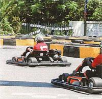 Take the racing seat in a 270cc Honda powered go-kart on Kart Freak's track.