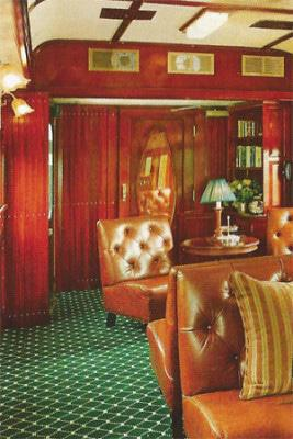 The train's restoration transformed it into top-class travel.
