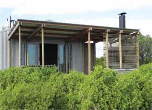 An eco-chalet at Rocherpan Nature Reserve