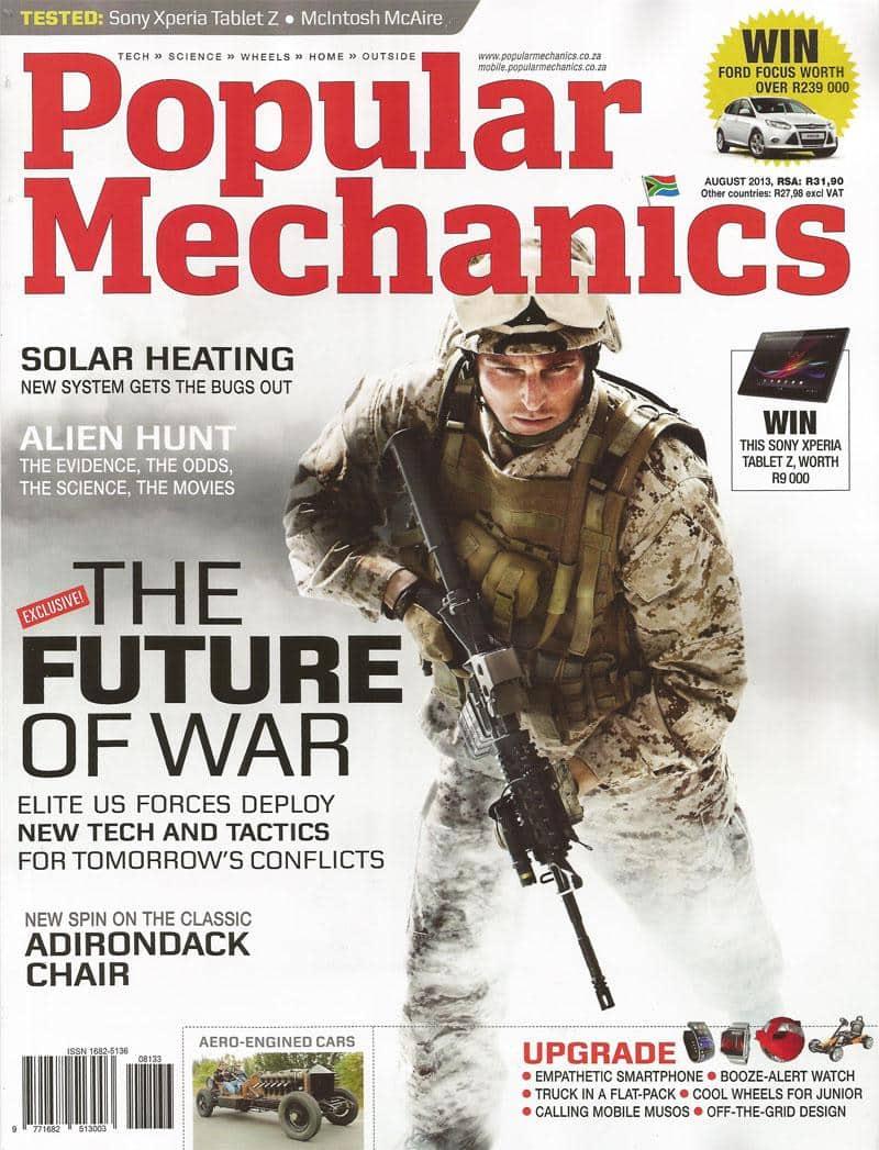 Popular Mechanics August 2013