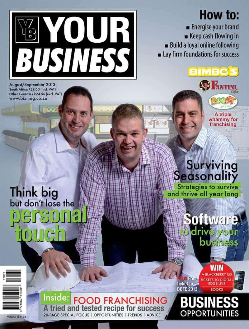 Your Business Magazine Aug/Sept 2013
