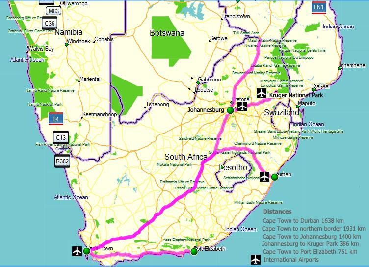 Facts about south africa what you should know south africa - Drive from port elizabeth to cape town ...