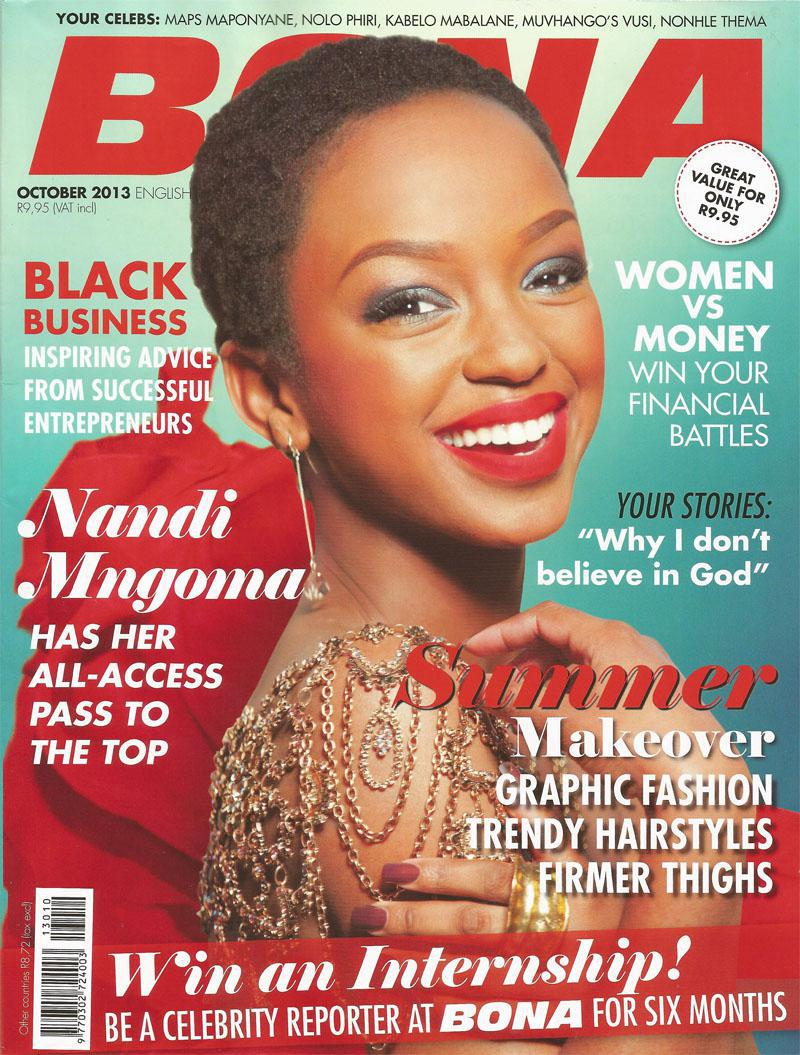 October 2013 Bona Magazine