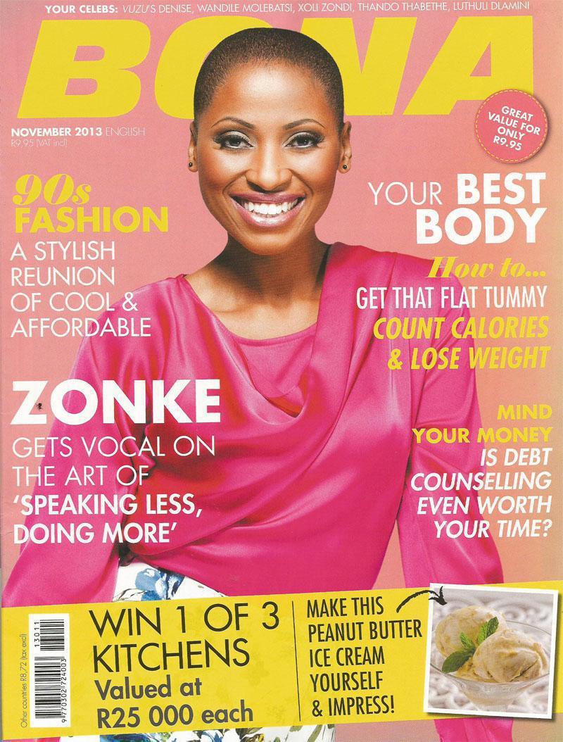 November 2013 Bona Magazine