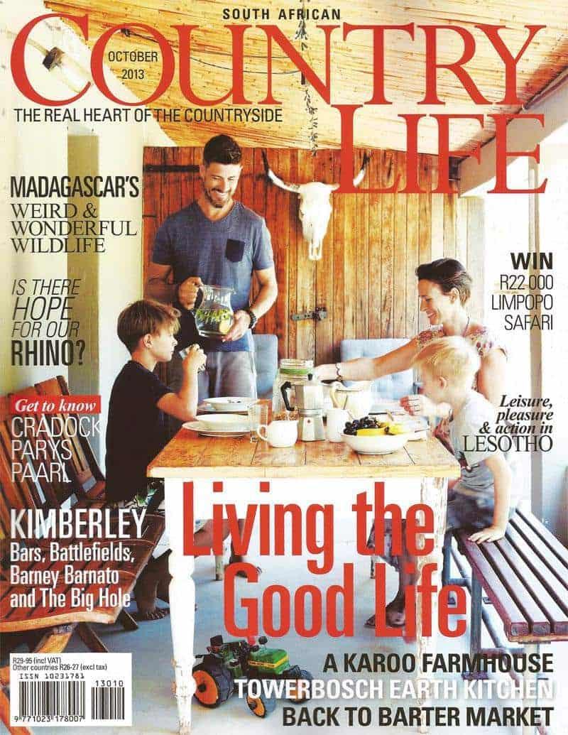 Country life October 2013