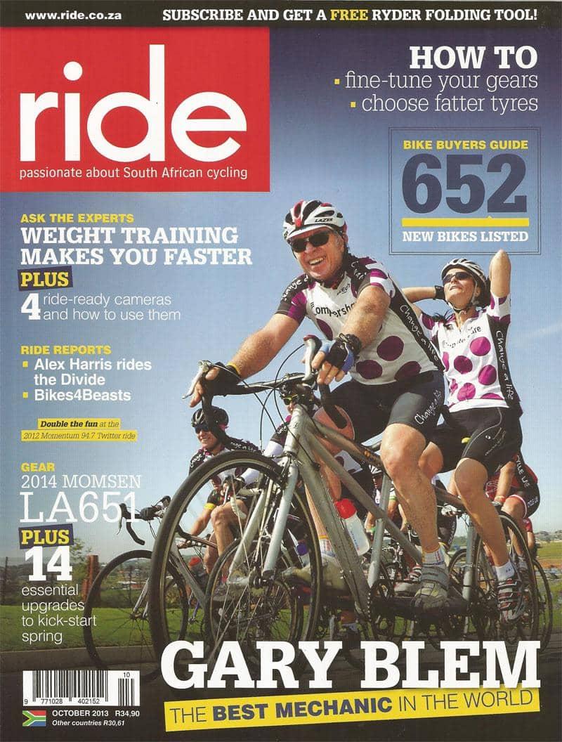 Ride October 2013