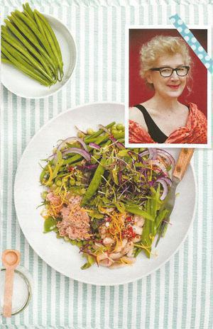 Gwynne Conlyn: Award-winning Lifestyle and Food Writer; Academy member of the world's 50 top retaurants. - Mouth-watering green salad