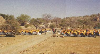 Preparations were underwasy fo the following weeks Nedbank Tour de Tuli