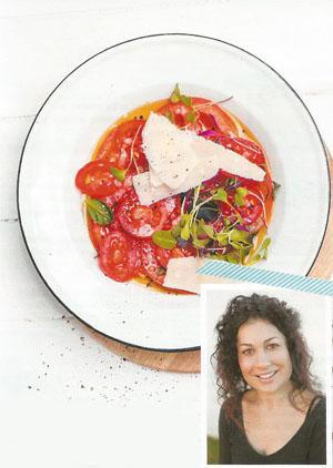 Kate Liquorish: Actress, Writer and Blogger - Tomato carpaccio