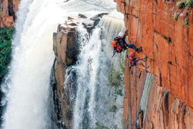 Waterval Boven has some of the best rock climbing in South Africa