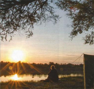 With campsites this close to the Vaal, you can practically sit with your feet in the water.