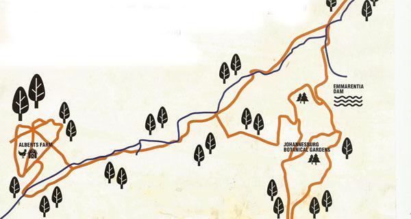 The Spruit is the lifeblood of Johannesburg mountain biking.