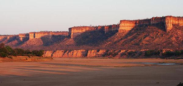 Chiloyo Cliffs as seen from Directors camps