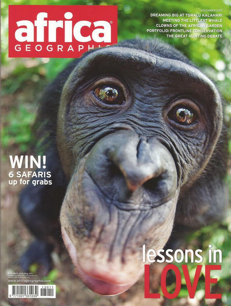 November 2013 Africa Geographic