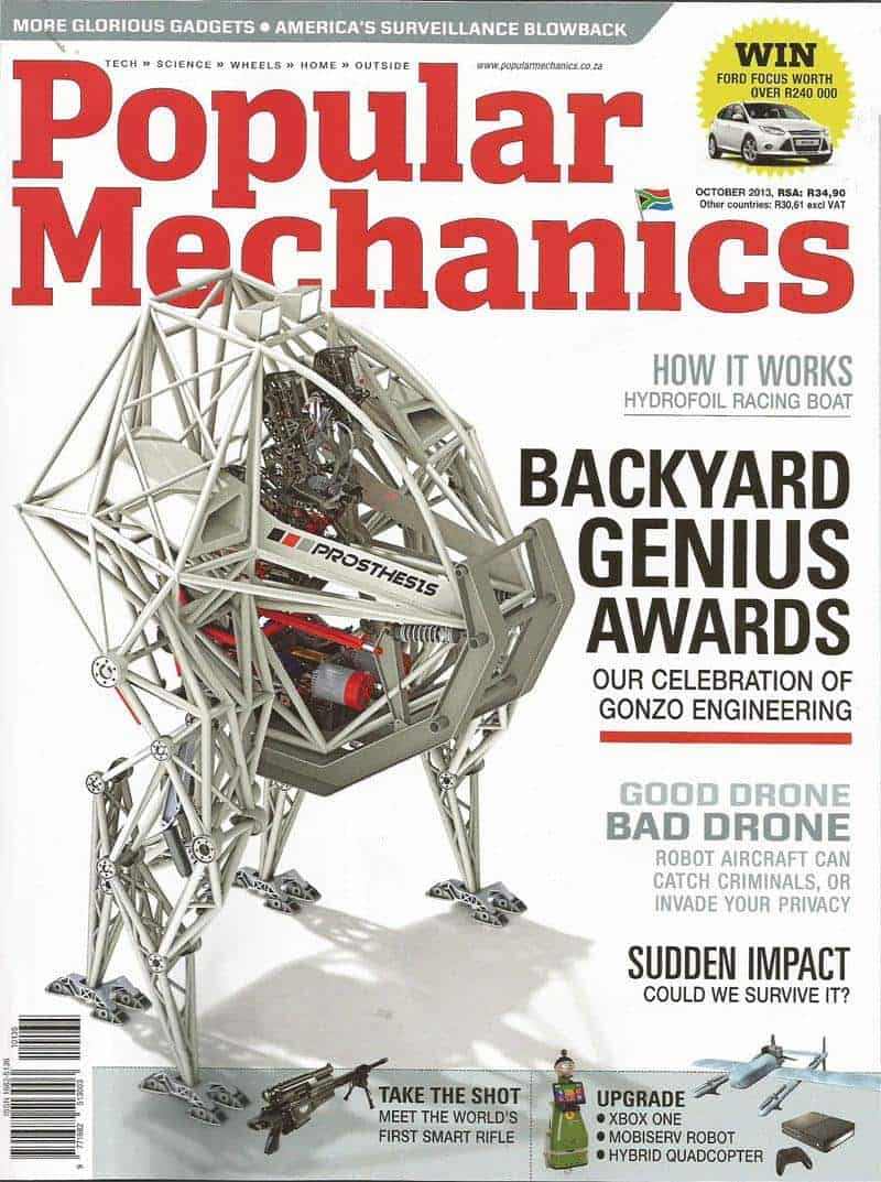 Popular Mechanics October 2013