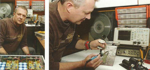 Rudi Marloth says the beauty of DIY is that you can fix something... or make it better.
