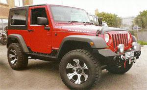 Another cool Maniac Jeep Wrangler