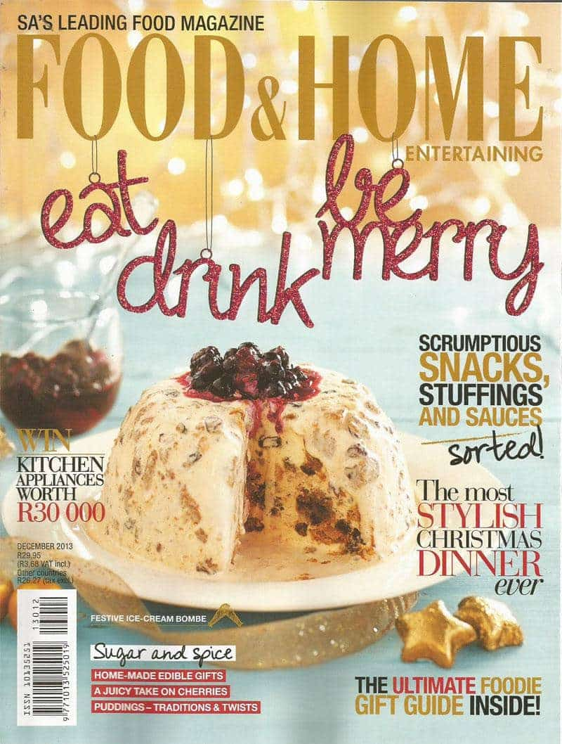food and home magazine south african recipes 5 best