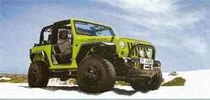 This Jeep Wrangler is decked out in virtually every Wrangler accessory in the Maniac catalogue