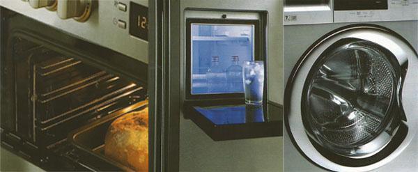 7kg aquafusion autowasher 5 burner gas multi function stove