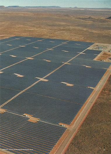 Northern Cape's new Kalkbult solar photovoltaic (PV) plant