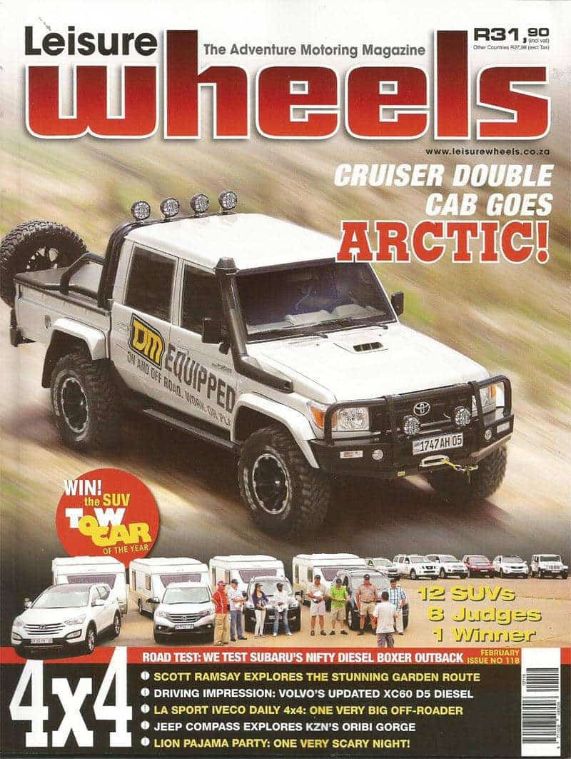 Leisure Wheels Tmb February 2014