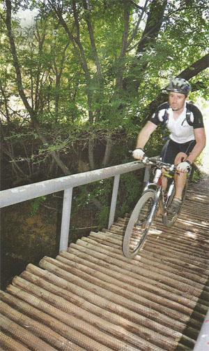Plenty of bridges have also been built to join the numerous small sections and give the trial good flow throughout