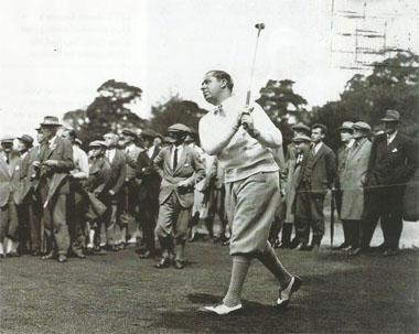 Walter Hagen was one of the first players to attract significant amounts of cash to the game.