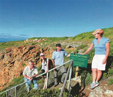 Access to Pinnacle Point Caves is restricted to guided groups.