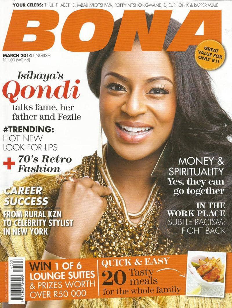 March 2014 Bona Magazine