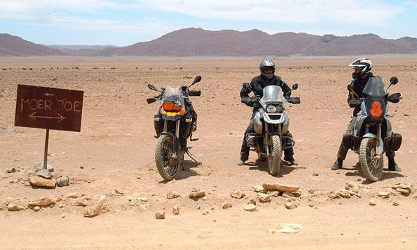 """I'm going to Swakopmund, I'm going by bike. Who's coming?"""" Thus our bike tour of Kalahari country and Namibia was born"""