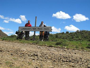 The joys of adventure riding - Rhodes via Lesotho