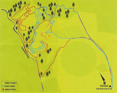 The Routes The park consists of three main loops: