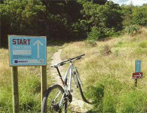 The trails are well signposted getting lost should not be a factor.