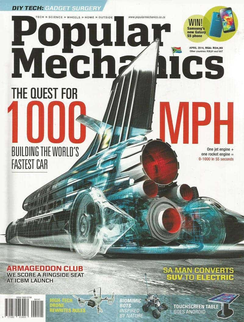 Popular Mechanics April 2014