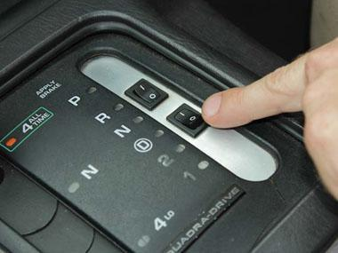 English switches on the inverter before hitting the road