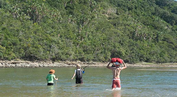 River crossings were a highlight of the trail and added a bit of adventure to keep the boys on their toes.