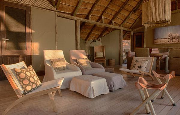 Clean, comfortable, authentic and modern  this is life at Ghoha Hills Savuti Lodge